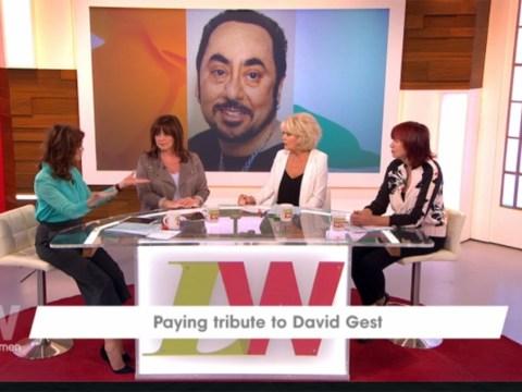 Loose Women's Sherrie Hewson regrets not calling David Gest just before he died