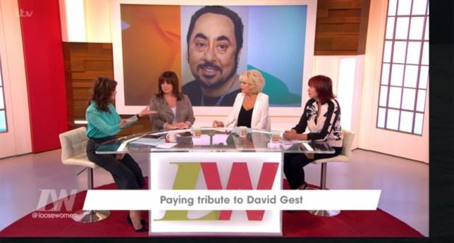 Loose Women's Sherrie Hewson regrets not calling David Gest Credit: ITV