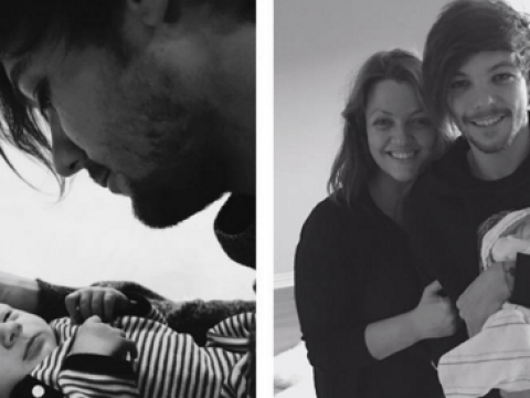 Louis Tomlinson's mum shares super sweet pics of him and baby Freddie