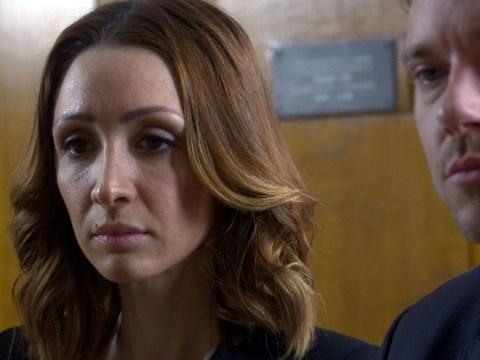 Andy Moss and Lucy-Jo Hudson left shocked by their Doctors storyline
