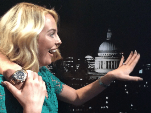 TOWIE's Lydia Bright announces 'engagement' to James Argent, but all is not as it seems