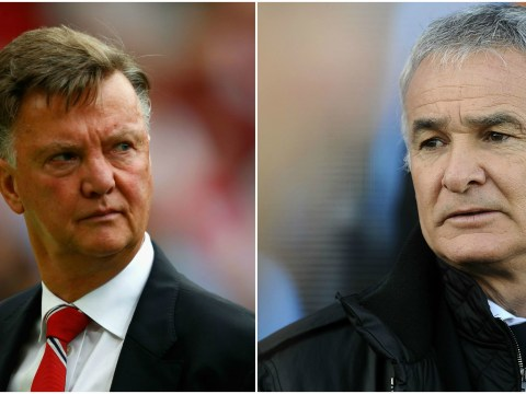Combined XI: Leicester City and Manchester United