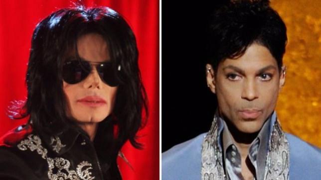 michael jackson and prince split