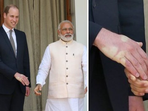 Shaking hands with Narendra Modi is not a good idea