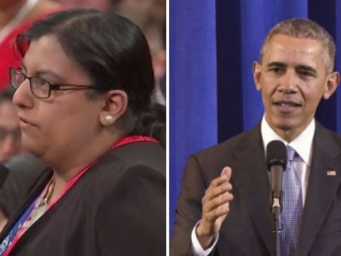 A young non-binary person came out to Barack Obama on live TV