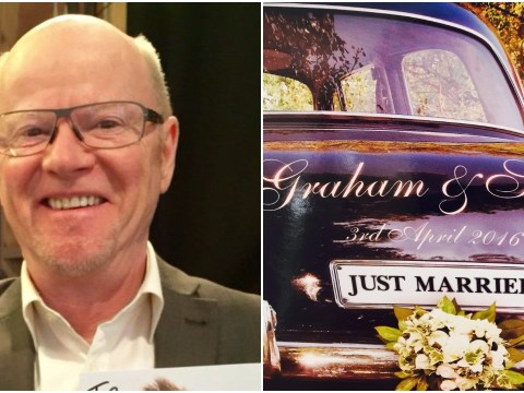 Jeremy Kyle therapist Graham Stanier has just got married to his partner of 32 years