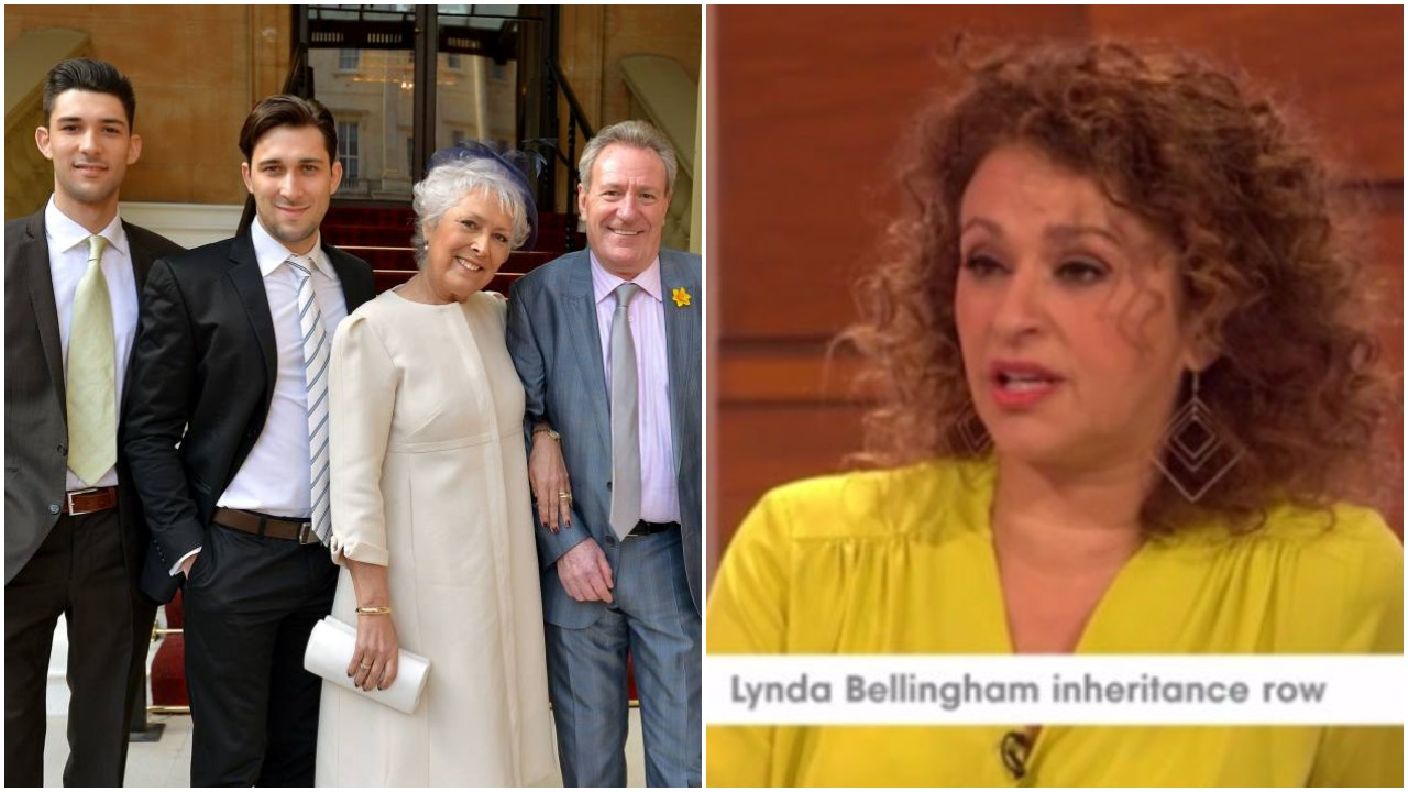 The Loose Women are furious with Lynda Bellingham's widower for 'ghost sex' claims