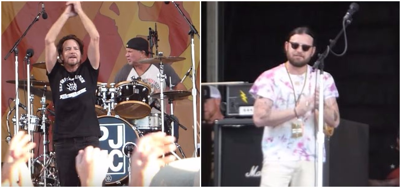 WATCH: Pearl Jam, Red Hot Chili Peppers and Kings Of Leon form the ultimate supergroup
