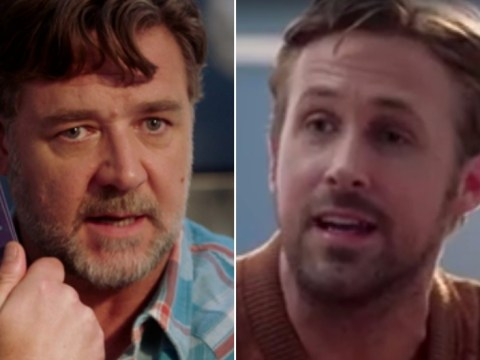 Ryan Gosling and Russell Crowe go through couple's counselling over the Hey Girl meme