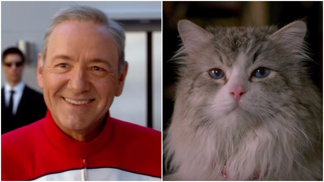 Kevin Spacey becomes a cat in Nine Lives – which looks like it could be the worst movie ever made