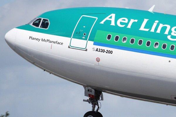 Planey McPlaneface Credit: Air Lingus