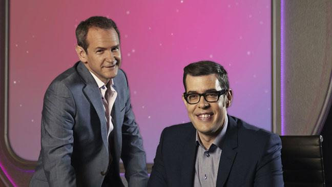 Pointless host Richard Osman takes a pop at rival show The Chase