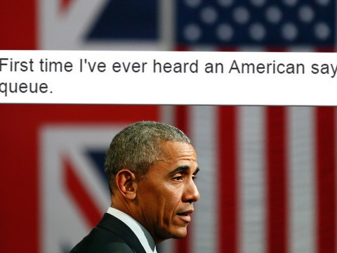 Obama used the word 'queue' in his Brexit speech and now people are suspicious