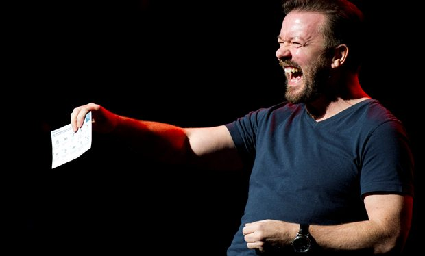 Ricky Gervais has written his 'most offensive stand up routine ever'