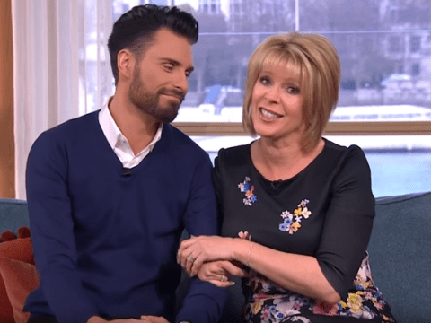 Ruth Langsford praises 'stand in husband' Rylan Clark on his last day co-hosting This Morning