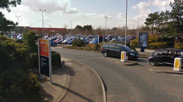 Teenage boy fighting for his life after falling from moving car in Sainsbury's car park