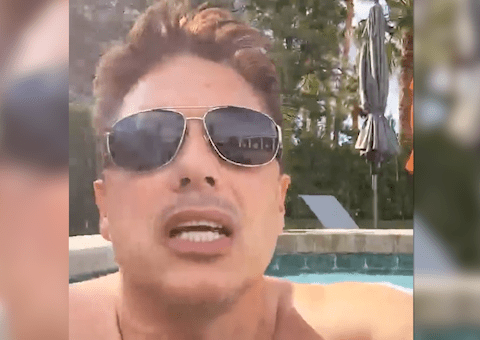 Torchwood's John Barrowman in shock after his husband Scott Gill exposes penis during live video chat
