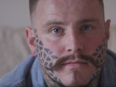 One man talks about how his life has changed since having his face tattooed