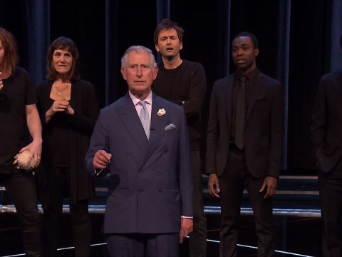 WATCH: Prince Charles upstages British acting royalty during Shakespeare Live!