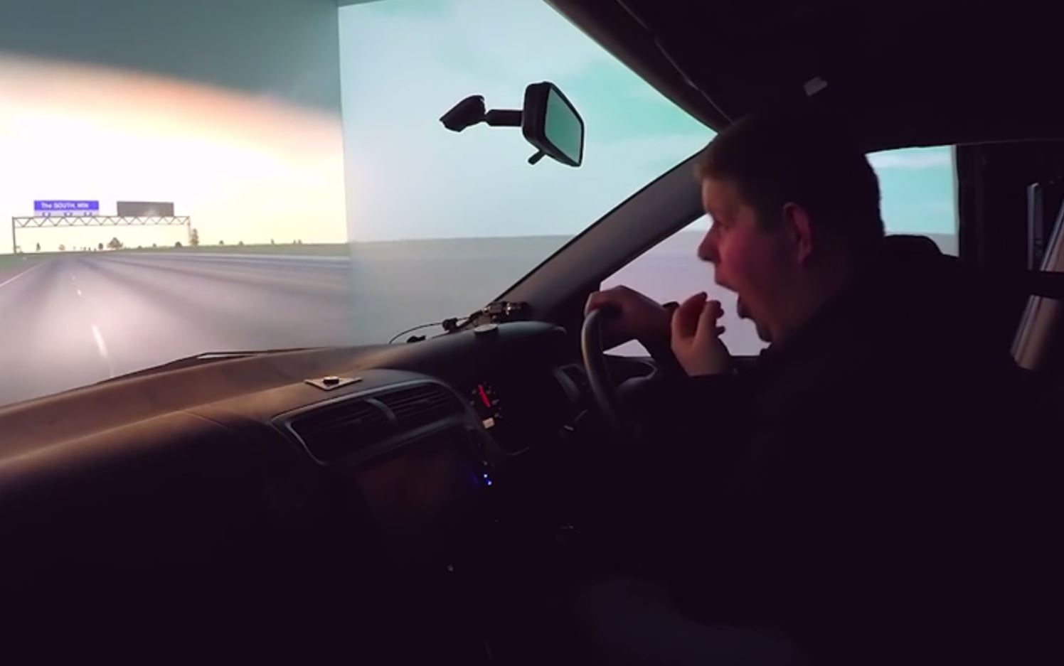 This video proves why you shouldn't drive when you're tired