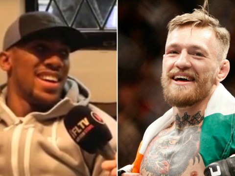 Anthony Joshua reveals he's an enormous Conor McGregor fan