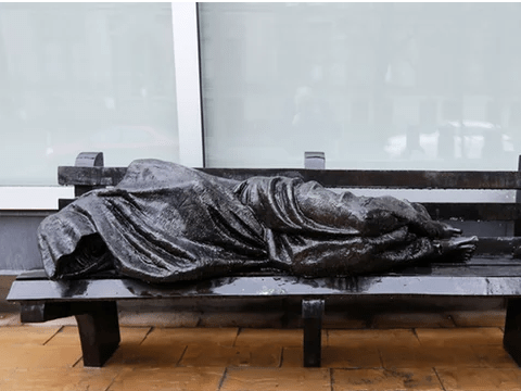 Westminster council blocks homeless Jesus statue