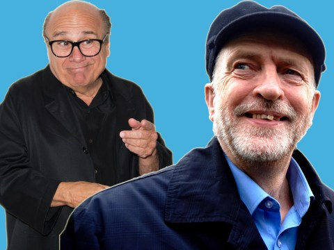 Danny DeVito backs Jeremy Corbyn and now people want Danny to be Prime Minister
