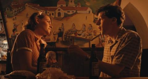 Kristen Stewart and Jesse Eisenberg reunite on the big screen for Woody Allen's Café Society