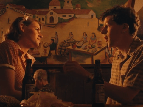 Kristen Stewart and Jesse Eisenberg reunite on the big screen for Woody Allen's Café Society