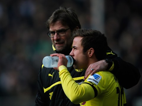 Liverpool manager Jurgen Klopp confirms he has been in contact with Mario Gotze