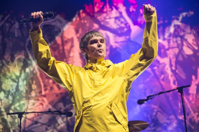 The Stone Roses singer succesfully escaped a fine (Picture: Rob Ball/WireImage)