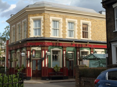 EastEnders' new and improved set won't be ready until 2020