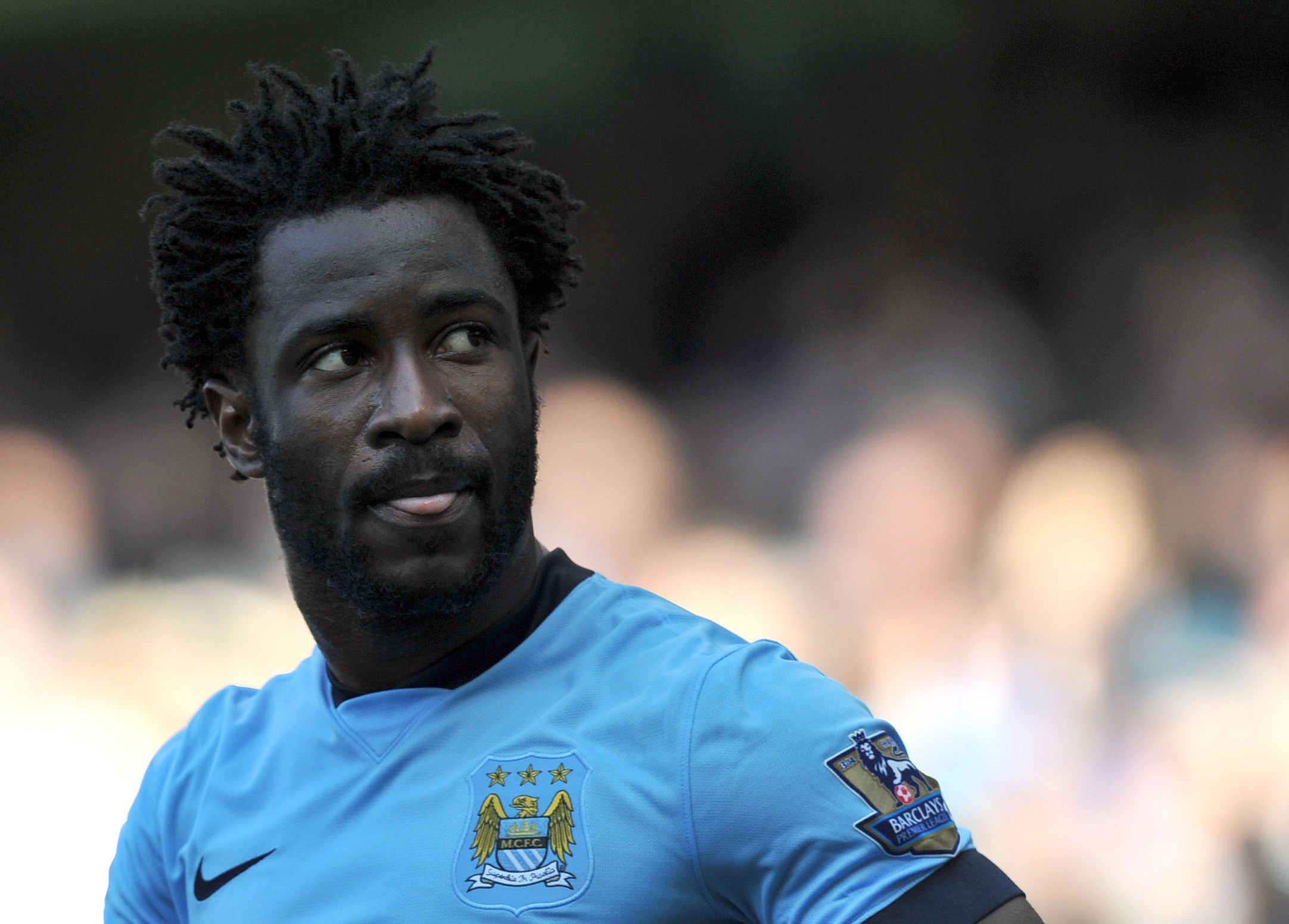 Wilfried Bony makes world's fastest debut for Stoke City after Manchester City transfer