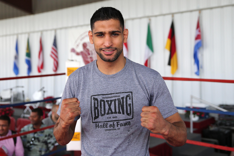 Amir Khan aims dig at Donald Trump ahead of Canelo Alvarez fight in Las Vegas