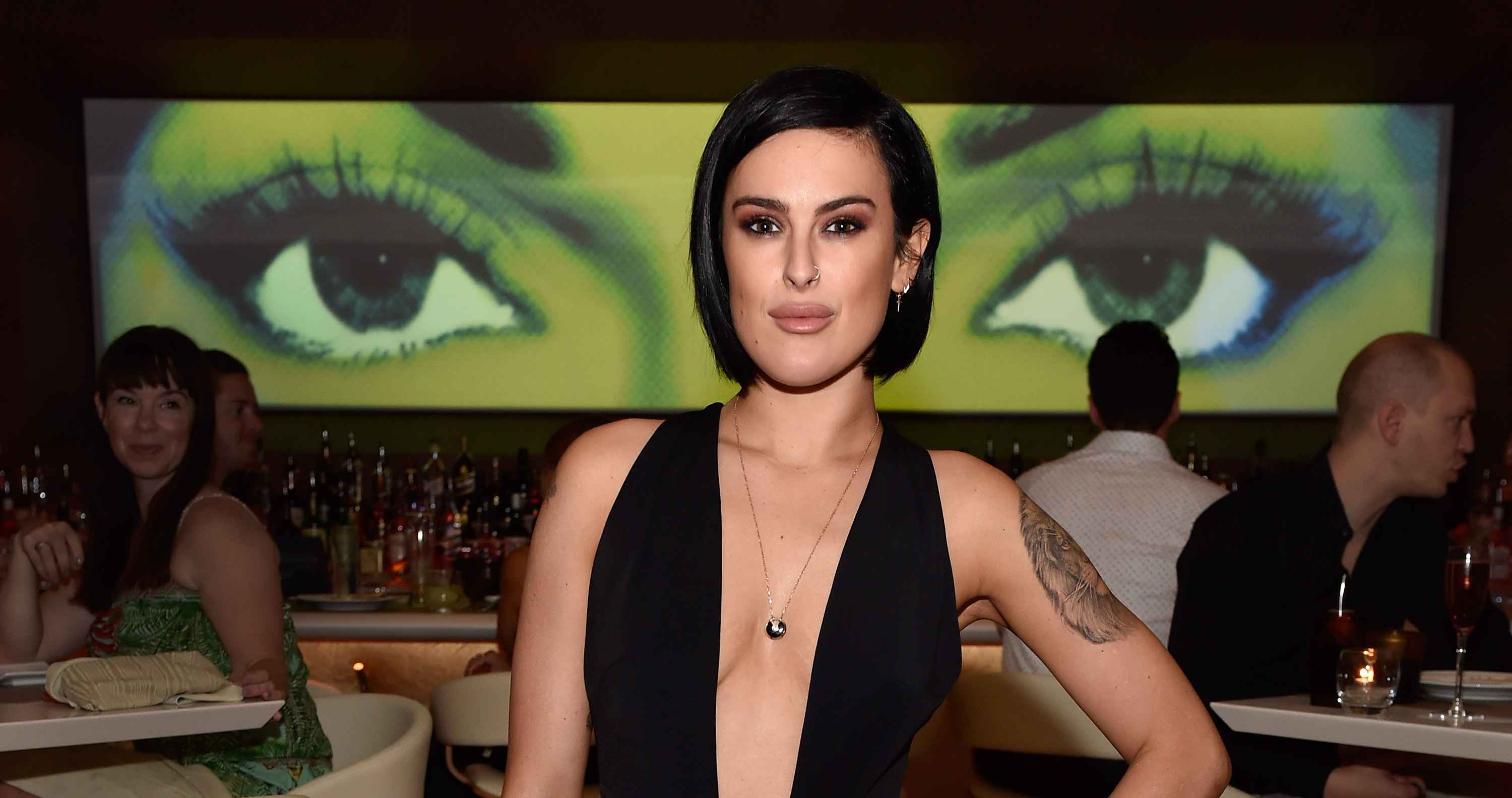 Rumer Willis is not happy (Picture: David Becker/Getty Images for Wynn Las Vegas)