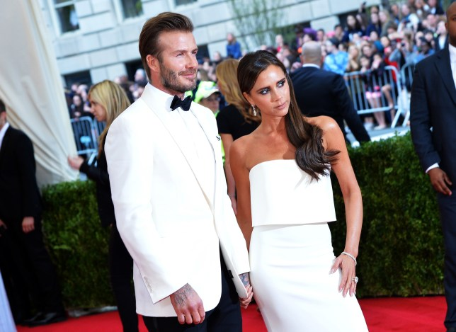 Happy anniversary to David and Victoria Beckham (Picture: Getty Images)