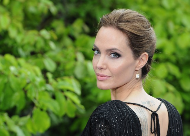 "LONDON, ENGLAND - MAY 08: Angelina Jolie attends a private reception as costumes and props from Disney's ""Maleficent"" are exhibited in support of Great Ormond Street Hospital at Kensington Palace on May 8, 2014 in London, England. (Photo by Eamonn M. McCormack/Getty Images)"