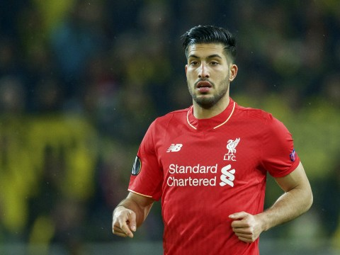 Emre Can will be in Liverpool squad to face Villarreal, Jurgen Klopp confirms