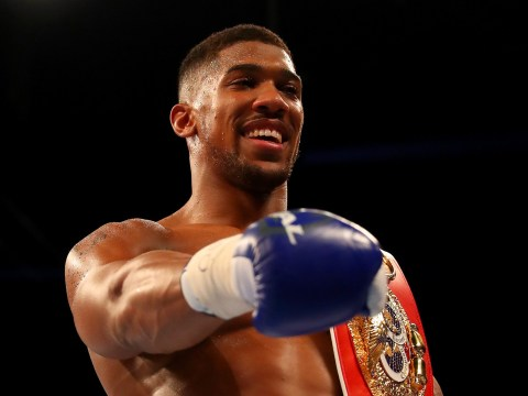 Heavyweight boxing champion Anthony Joshua the fifth most marketable sportsperson in the world