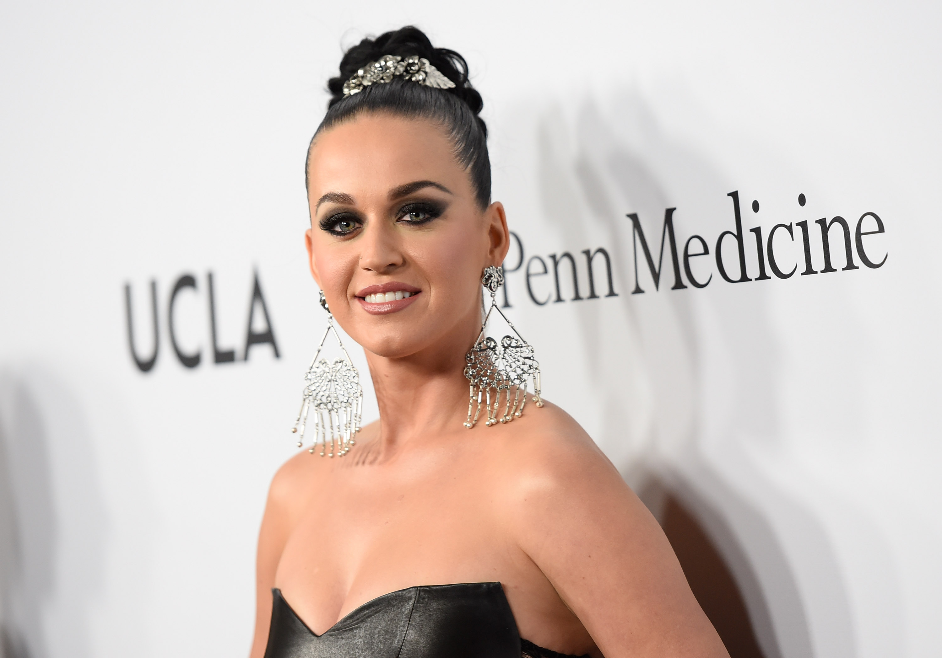 Katy Perry posts poignant Peggy Lee song as Orlando Bloom and Selena Gomez 'spotted getting touchy feely'