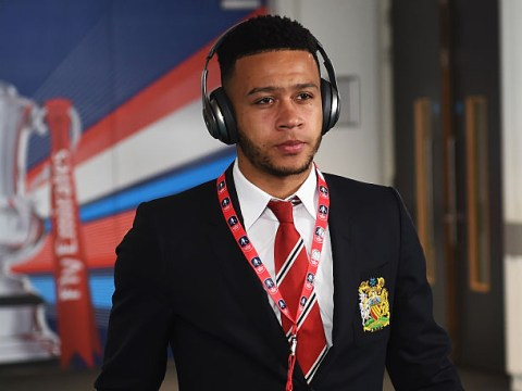 Memphis Depay insists he's happy to stay at Manchester United as club prepare to announce Jose Mourinho