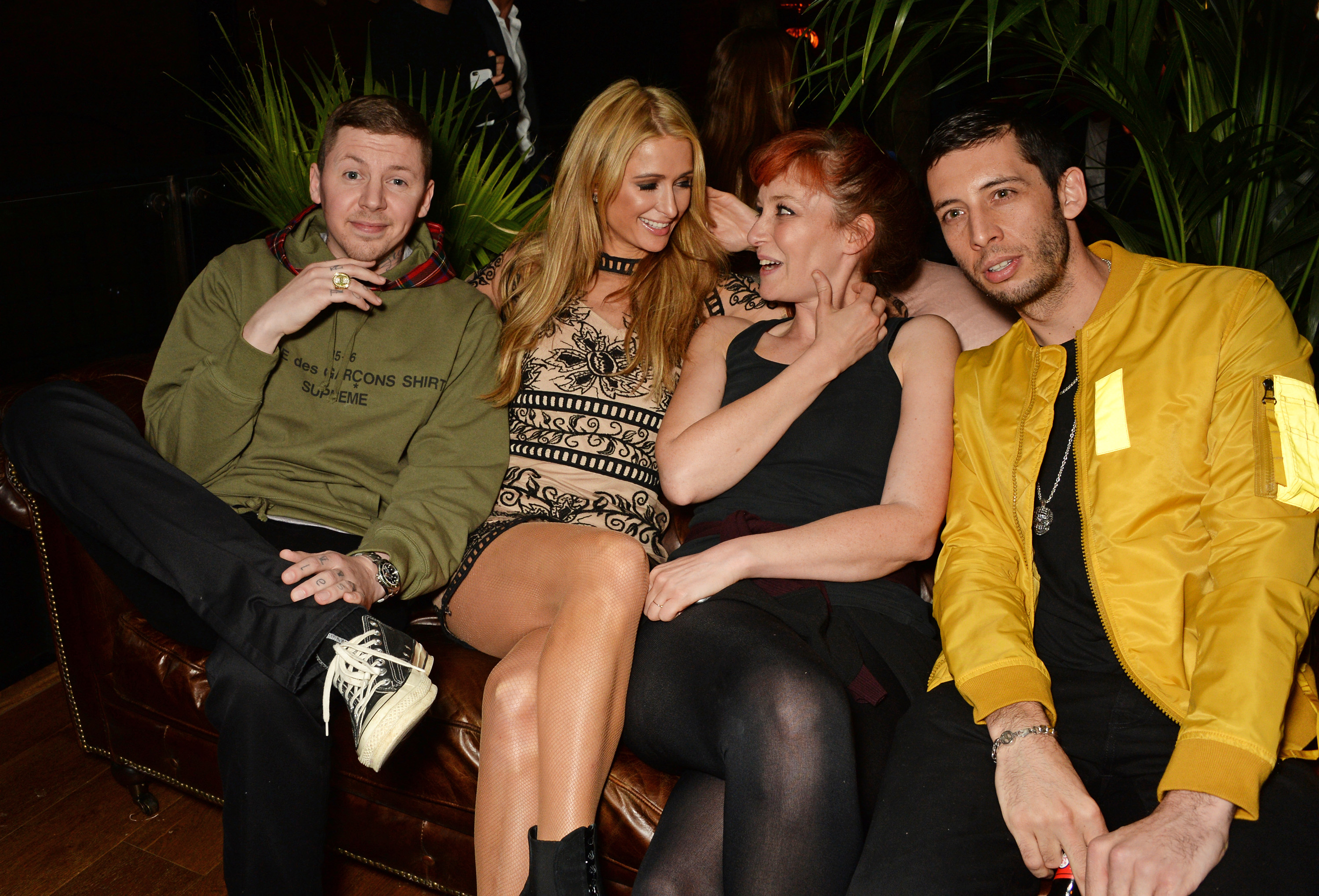 Professor Green hilariously shoots down dating rumours – requests date with Jessica Alba