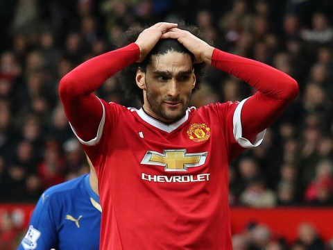 Manchester United star Marouane Fellaini dyes his hair blond for Euro 2016 – and it's even worse than before