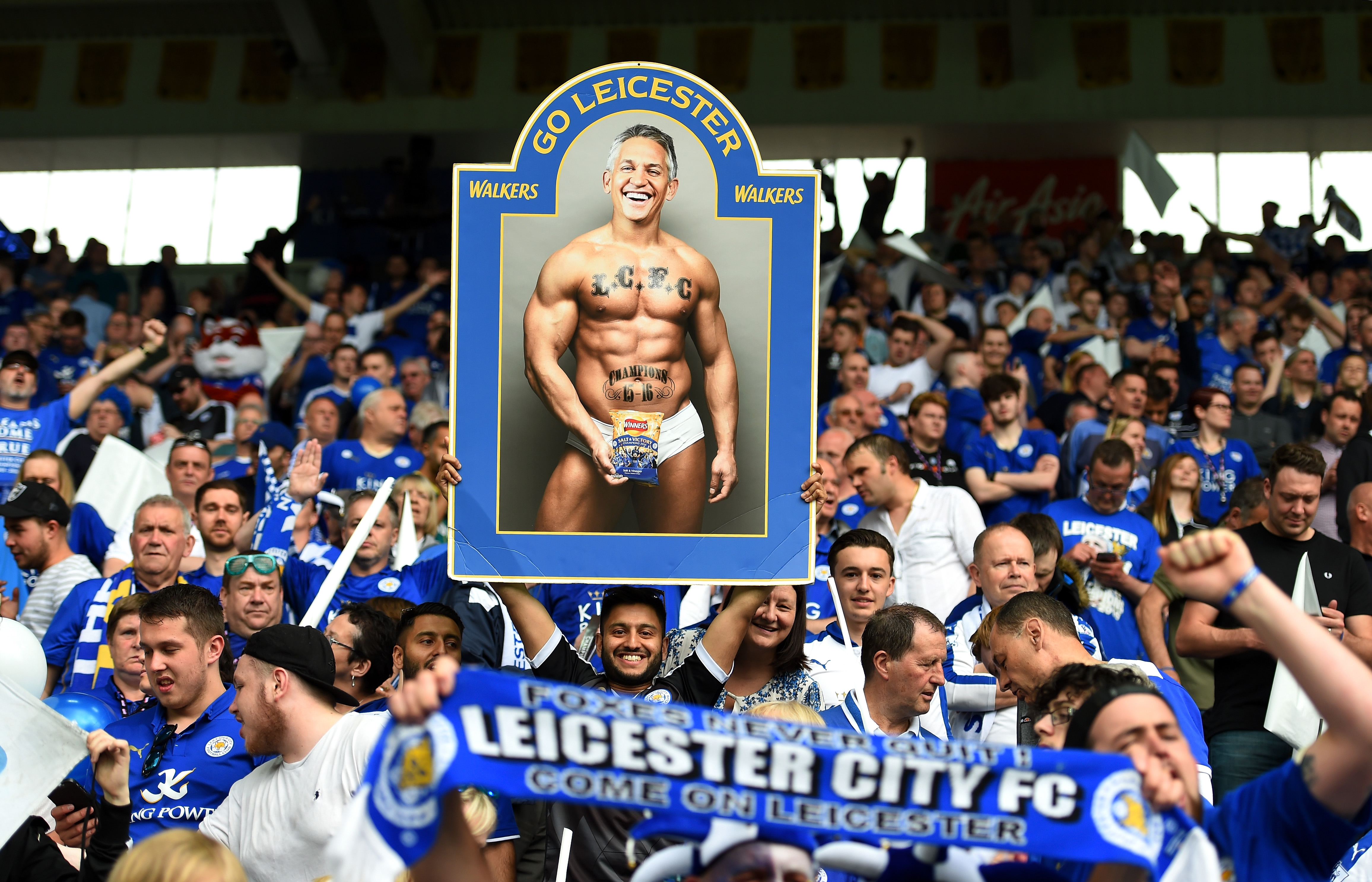 Gary Lineker has 'no regrets' about pledging to host Match of the Day in his underwear after Leicester's title win