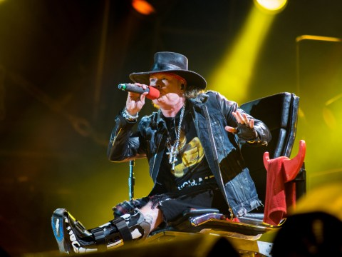 Axl Rose is trying to get an unflattering photo of himself removed from the internet