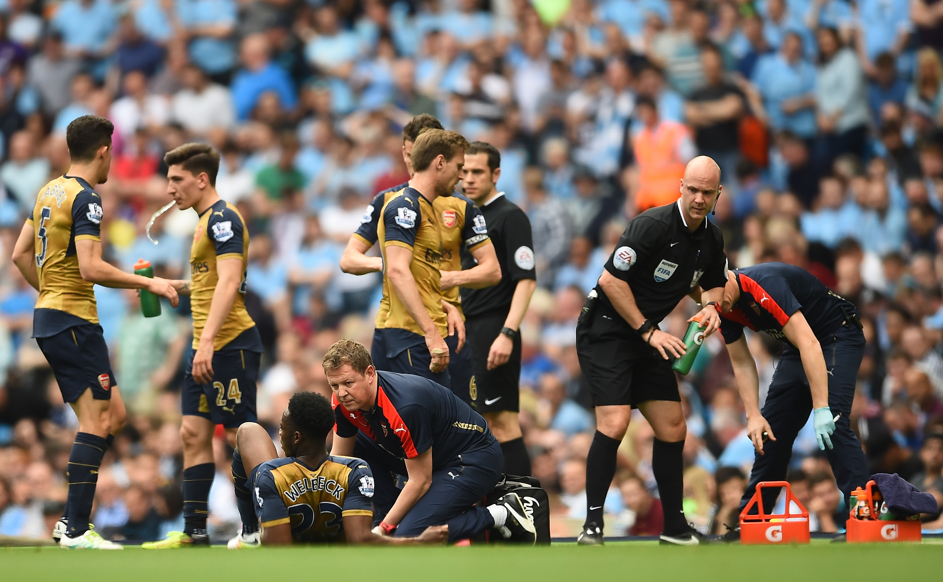 Arsenal injury news: Danny Welbeck news, winger ruled out Euros, Jack Wilshere profits from misfortune