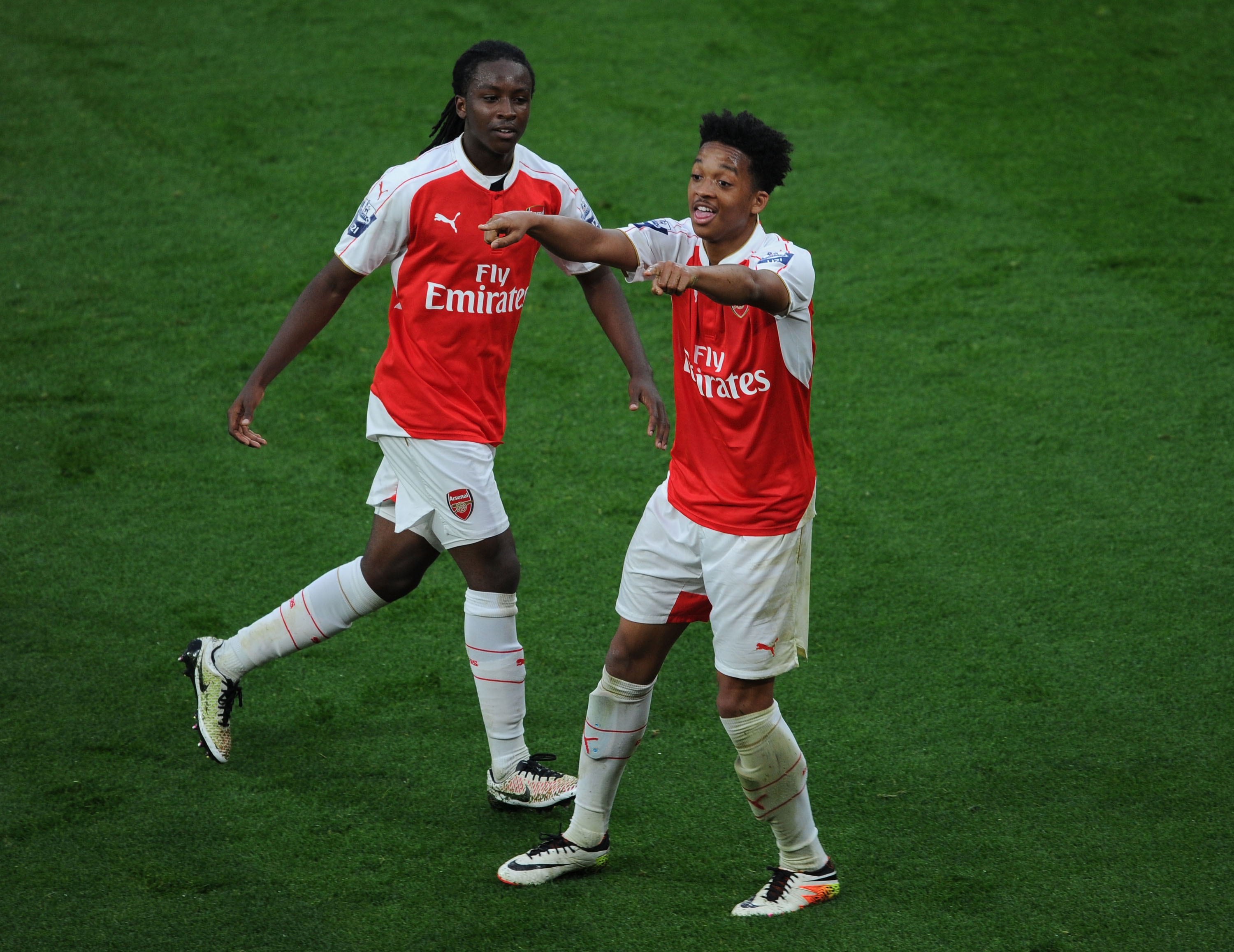Arsenal's Chris Willock gives masterclass as Under-21s are promoted to Division One