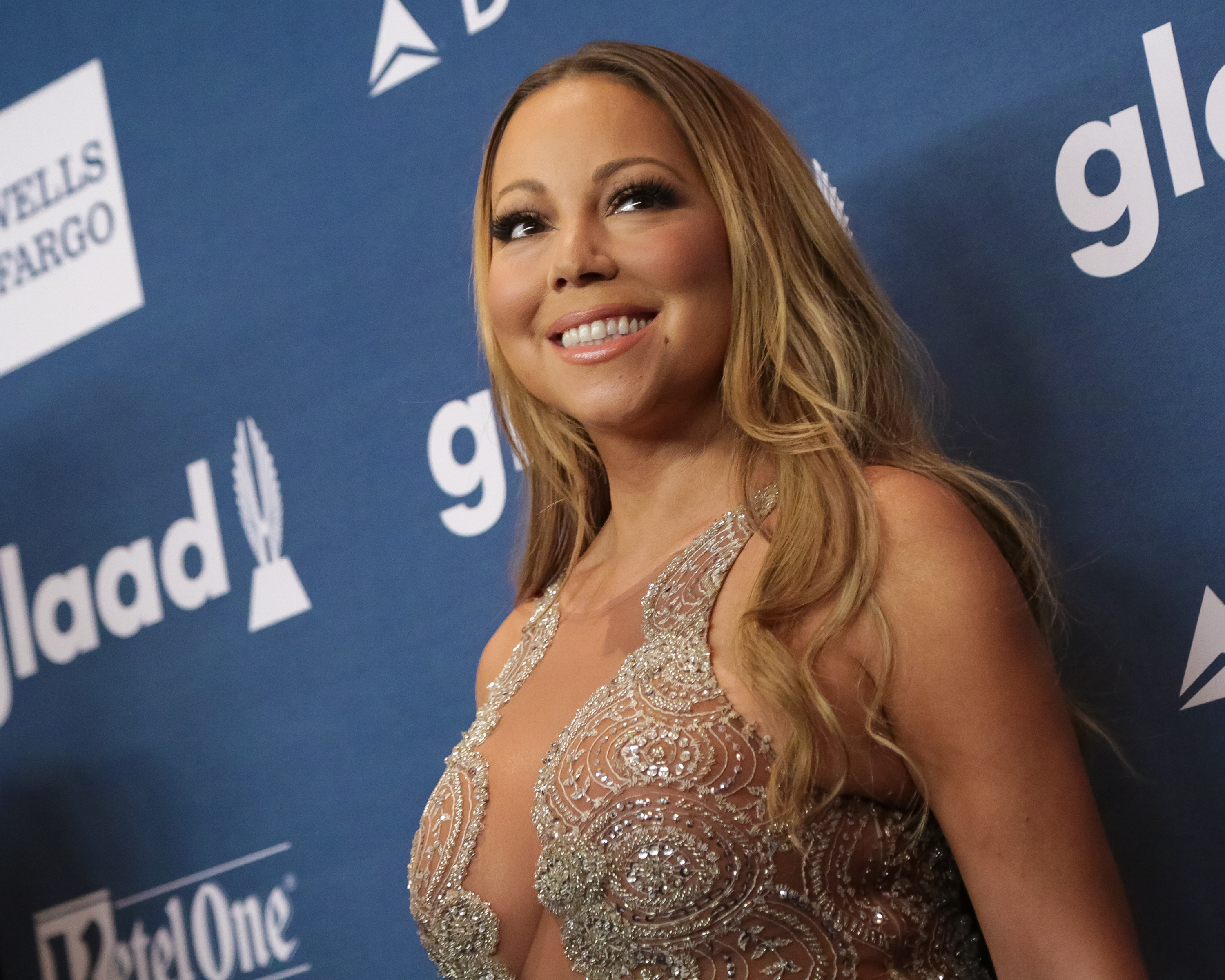 NEW YORK, NY - MAY 14: Recording artist/Ally Award recipient Mariah Carey attends the 27th Annual GLAAD Media Awards held at The Waldorf=Astoria on May 14, 2016 in New York City. (Photo by Brent N. Clarke/FilmMagic)