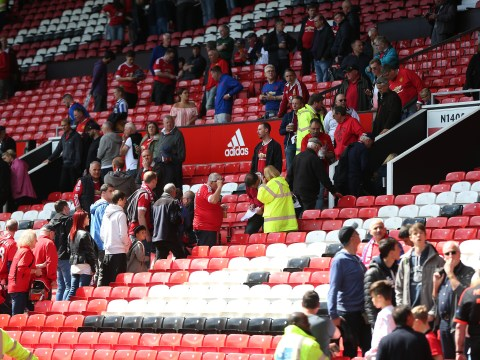 Manchester United v Bournemouth abandoned after 'suspect package' found at Old Trafford