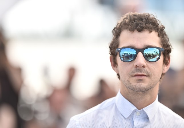 """CANNES, FRANCE - MAY 15: Actor Shia LaBeouf attends the """"American Honey"""" photocall during the 69th annual Cannes Film Festival at the Palais des Festivals on May 15, 2016 in Cannes, France. (Photo by Pascal Le Segretain/Getty Images)"""